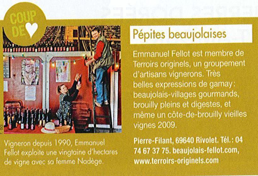 Citation Revue des Vins de France
