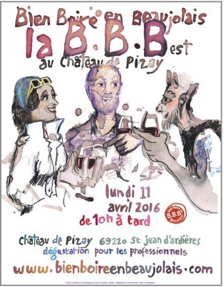 Rendez-vous au Château de la Chaize le 11 avril prochain !