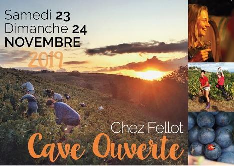 Cave ouverte le 23 et 24 novembre