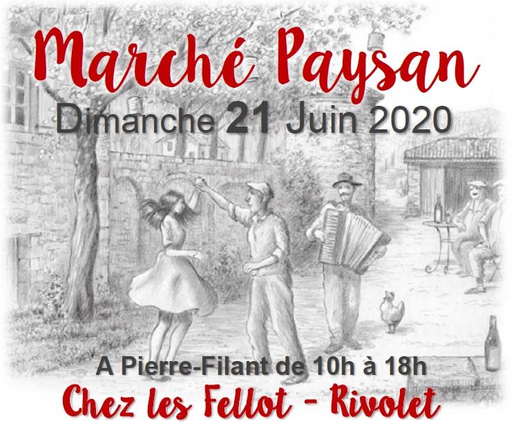 Marché Paysan le 21 juin 2020