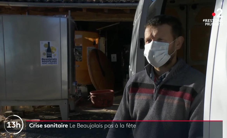 Beaujolais Nouveau 2020 – Reportage France 2