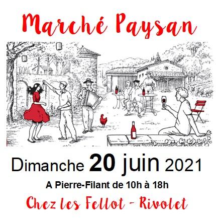 Marché Paysan le 20 juin 2021